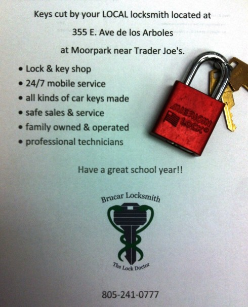 Brucar Locksmith makes keys for your American Padlocks!